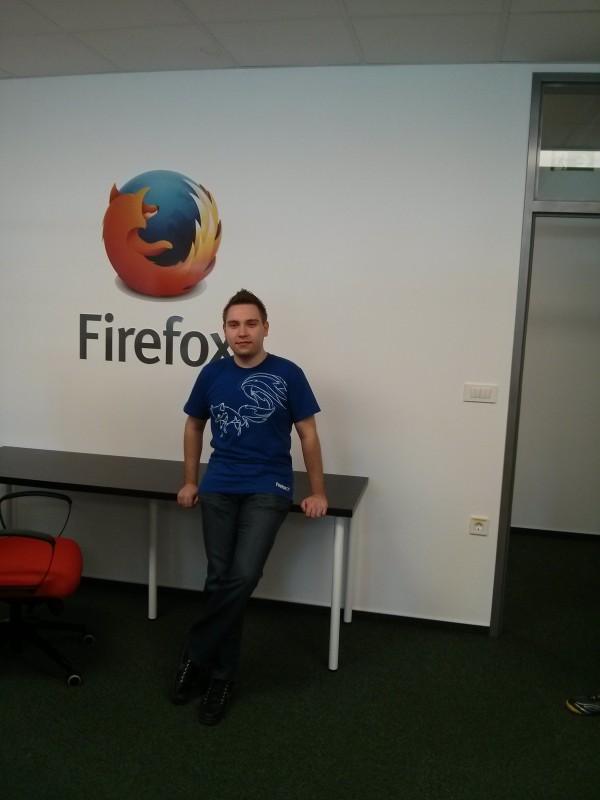 Nino Vranešič: človek, ki je zaslužen, da smo dobili Mozilla Space tudi v Sloveniji.