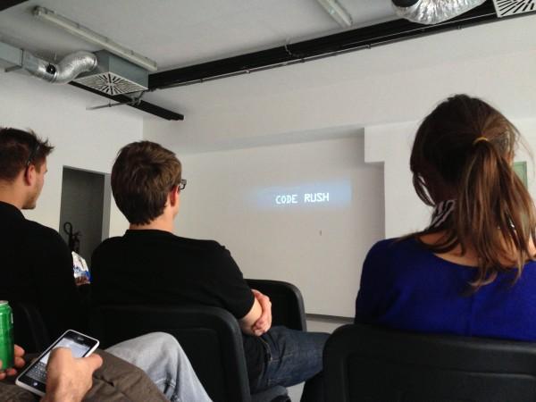 Prireditev smo zaključili s premiero v slovenščino podanaslovljenega dokumentarca Code Rush.